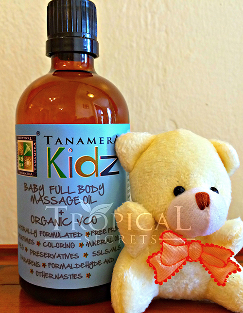 Kidz Body Massage OIl WM